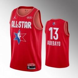 Heat 13 Bam Adebayo Red 2020 NBA All Star Jordan Brand Swingman Jersey