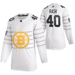 Bruins 40 Tuukka Rask White 2020 NHL All Star Game Adidas Jersey