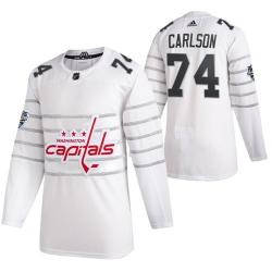 Capitals 74 John Carlson White 2020 NHL All Star Game Adidas Jersey