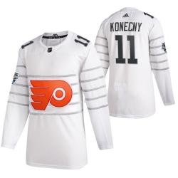 Flyers 11 Travis Konecny White 2020 NHL All Star Game Adidas Jersey
