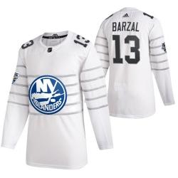 Islanders 13 Mathew Barzal White 2020 NHL All Star Game Adidas Jersey