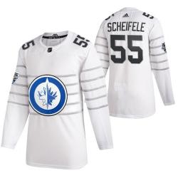 Jets 55 Mark Scheifele White 2020 NHL All Star Game Adidas Jersey