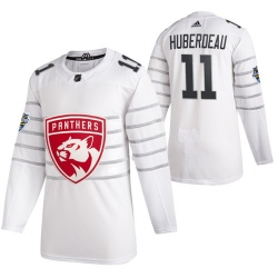 Panthers 11 Jonathan Huberdeau White 2020 NHL All Star Game Adidas Jersey