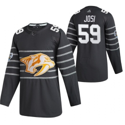 Predators 59 Roman Josi Gray 2020 NHL All Star Game Adidas Jersey