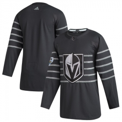 Vegas Golden Knights Blank Gray 2020 NHL All Star Game Adidas Jersey