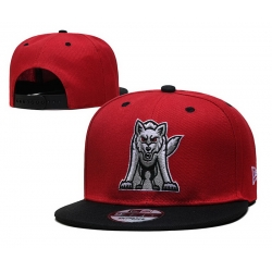 NCAA College Snapback Cap 013