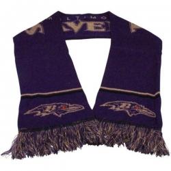 NFL Baltimore Ravens Purple Scarf