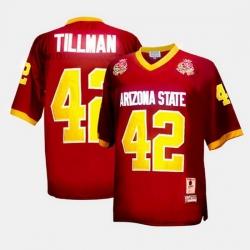 Arizona State Sun Devils Pat Tillman College Football Red Jersey