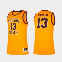 Men Arizona State Sun Devils James Harden Alumni Gold Classic Jersey