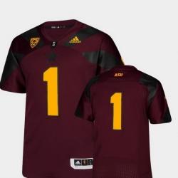 Men Arizona State Sun Devils Maroon College Football Premier Jersey