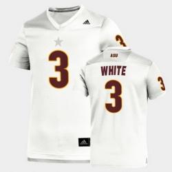 Men Arizona State Sun Devils Rachaad White Replica White Football Jersey