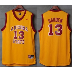 Sun Devils #13 James Harden Gold Nike Basketball Stitched NCAA Jersey