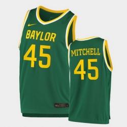 Men Baylor Bears Davion Mitchell Replica Green College Basketball 2020 21 Jersey