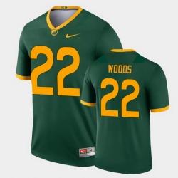 Men Baylor Bears Jt Woods Legend Green College Football Jersey