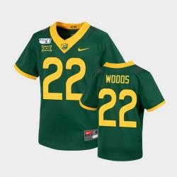 Men Baylor Bears Jt Woods Untouchable Green College Football Jersey