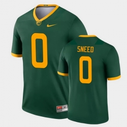 Men Baylor Bears R.J. Sneed Legend Green College Football Jersey