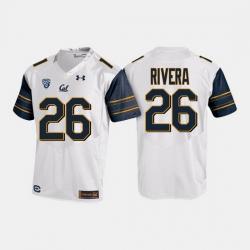 California Golden Bears Bug Rivera College Football White Jersey