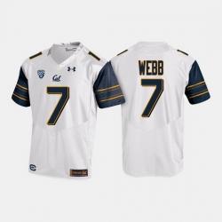 California Golden Bears Davis Webb College Football White Jersey