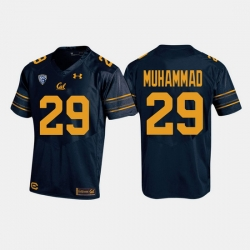 California Golden Bears Khalfani Muhammad College Football Navy Jersey