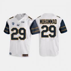 California Golden Bears Khalfani Muhammad College Football White Jersey