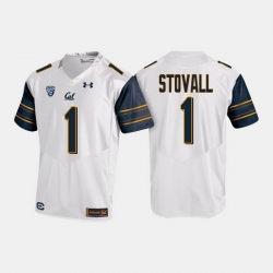 California Golden Bears Melquise Stovall College Football White Jersey