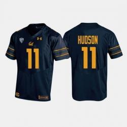 California Golden Bears Raymond Hudson College Football Navy Jersey