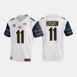 California Golden Bears Raymond Hudson College Football White Jersey