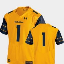 Men California Golden Bears Gold College Football Performance Premier Jersey