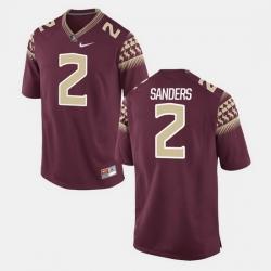 Florida State Seminoles Deion Sanders Alumni Football Game Garnet Jersey