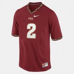 Florida State Seminoles Deion Sanders College Football Red Jersey