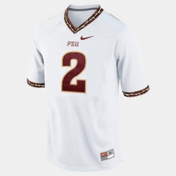 Florida State Seminoles Deion Sanders College Football White Jersey