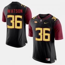Florida State Seminoles Dekoda Watson College Football Black Jersey