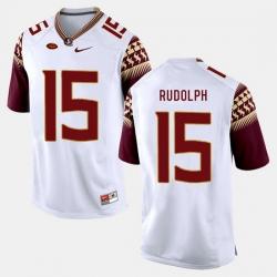 Florida State Seminoles Travis Rudolph College Football White Jersey