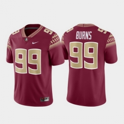 Men Florida State Seminoles Brian Burns 99 Garnet Alumni Football Game Jersey