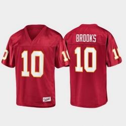 Men Florida State Seminoles Derrick Brooks 10 Garnet Champions Collection Jersey