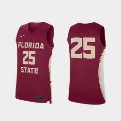 Men Florida State Seminoles Garnet Replica College Basketball Jersey