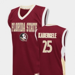 Men Florida State Seminoles Mfiondu Kabengele Red Fadeaway College Basketball Jersey