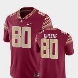 Men Florida State Seminoles Rashad Greene 80 Garnet Game College Football Jersey