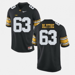 Austin Blythe Black Iowa Hawkeyes Alumni Football Game Jersey
