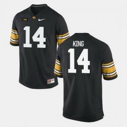 Iowa Hawkeyes Desmond King College Football Black Jersey