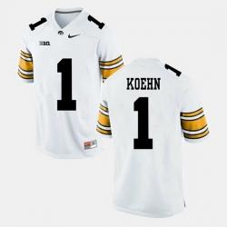 Marshall Koehn White Iowa Hawkeyes Alumni Football Game Jersey
