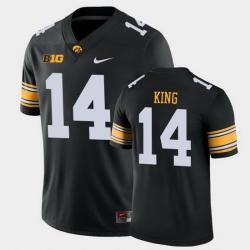 Men Iowa Hawkeyes Desmond King Game Black College Football Jersey