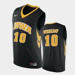 Men Iowa Hawkeyes Joe Wieskamp Replica Black College Basketball Jersey