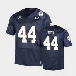Men Notre Dame Fighting Irish Justin Tuck 2021 Rose Bowl Navy College Football Jersey