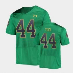 Men Notre Dame Fighting Irish Justin Tuck College Football Green Replica Jersey