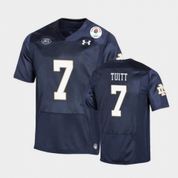 Men Notre Dame Fighting Irish Stephon Tuitt 2021 Rose Bowl Navy College Football Jersey