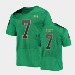 Men Notre Dame Fighting Irish Stephon Tuitt College Football Green Replica Jersey