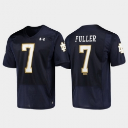 Men Notre Dame Fighting Irish Will Fuller 7 Navy Replica Alumni Football Jersey