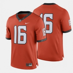 Men Oklahoma State Cowboys And Cowgirls College Football Orange Jersey