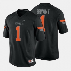 Men Oklahoma State Cowboys And Cowgirls Dez Bryant College Football Black Jersey